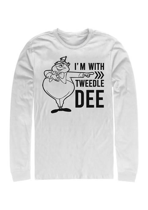 Disney® Tweedle Dee Dum Dee Long Sleeve Crew