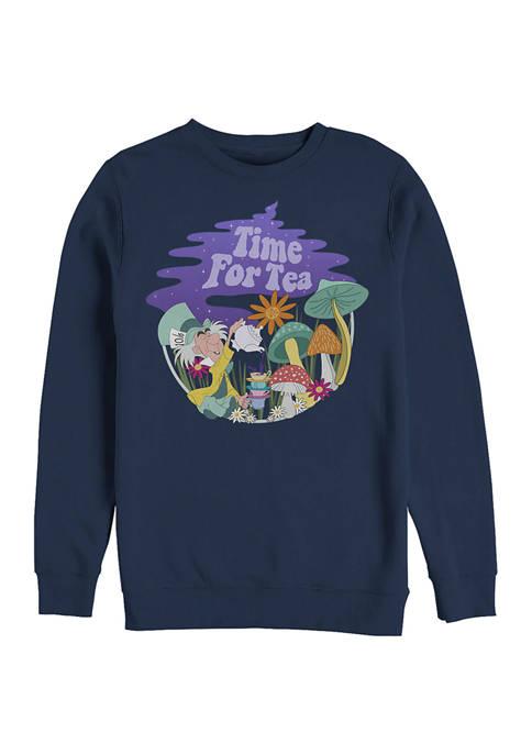 Disney® Tea Time Filled Crew Fleece Graphic Sweatshirt