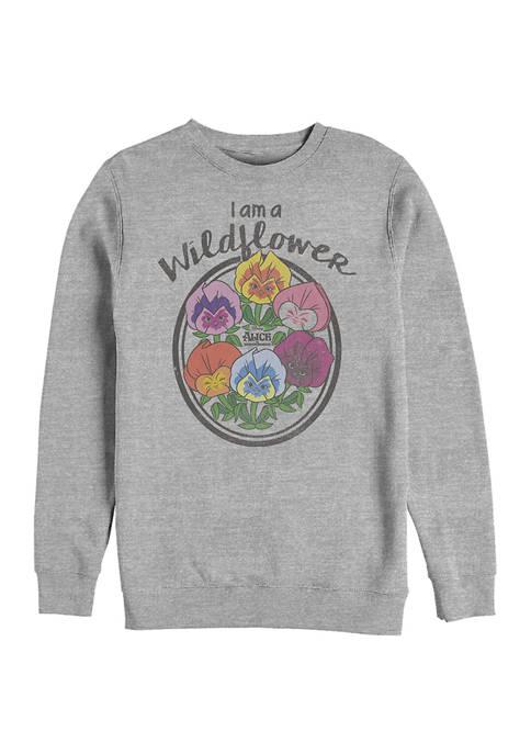 Disney® Wildflower Graphic Crew Fleece Sweatshirt