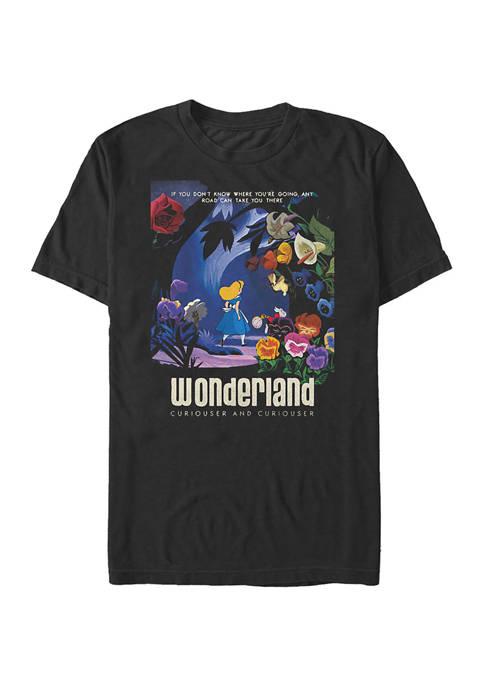 Alice in Wonderland Graphic Top