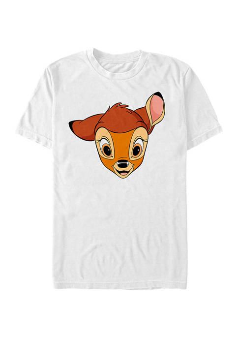 Disney® Big Face Short Sleeve Graphic T-Shirt