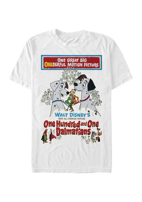 Disney® Vintage Poster Graphic Short Sleeve T-Shirt