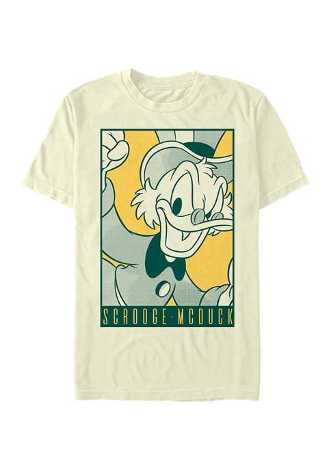 Disney® Pop Poster Scrooge Graphic Short Sleeve T-Shirt