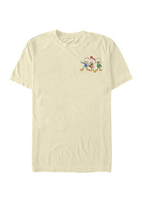 Disney® Duck Triplet Pocket Graphic Short Sleeve T-Shirt