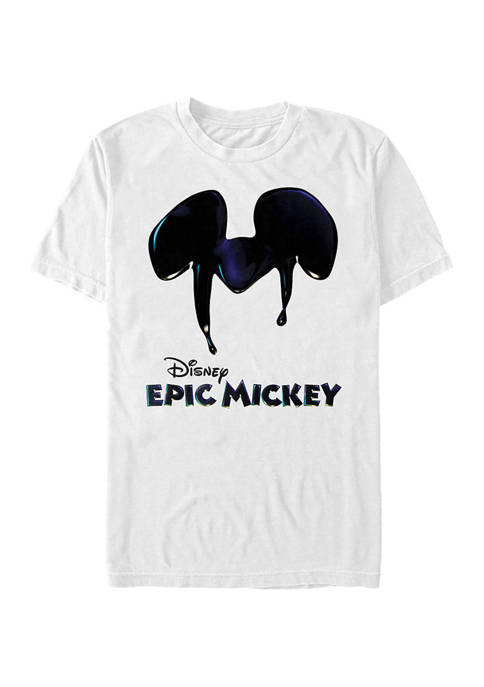 Disney® Epic Logo Short Sleeve Graphic T-Shirt