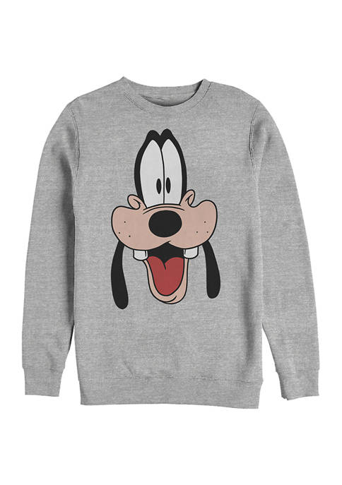 Disney® Dad Big Face Crew Fleece Graphic Sweatshirt