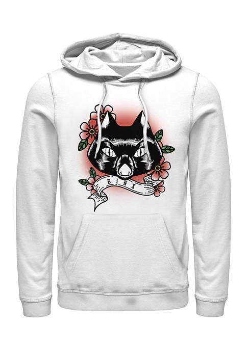 Hocus Pocus Binx Cat Fleece Graphic Hoodie