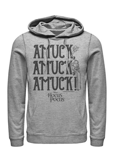 Hocus Pocus Juniors AMUCK Graphic Fleece Hoodie