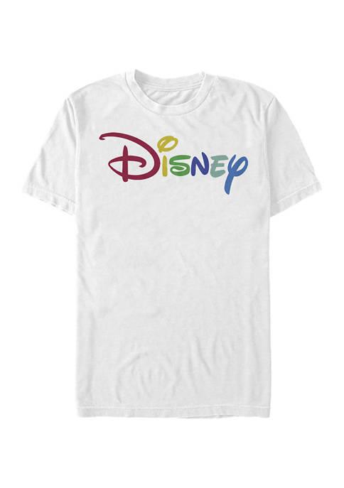 Disney® Juniors Multicolor Disney Graphic Short Sleeve T-Shirt