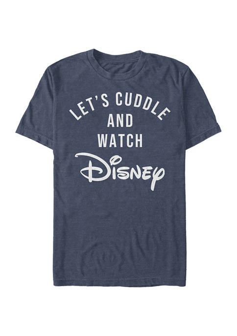 Disney® Juniors Disney Cuddles Graphic Short Sleeve T-Shirt
