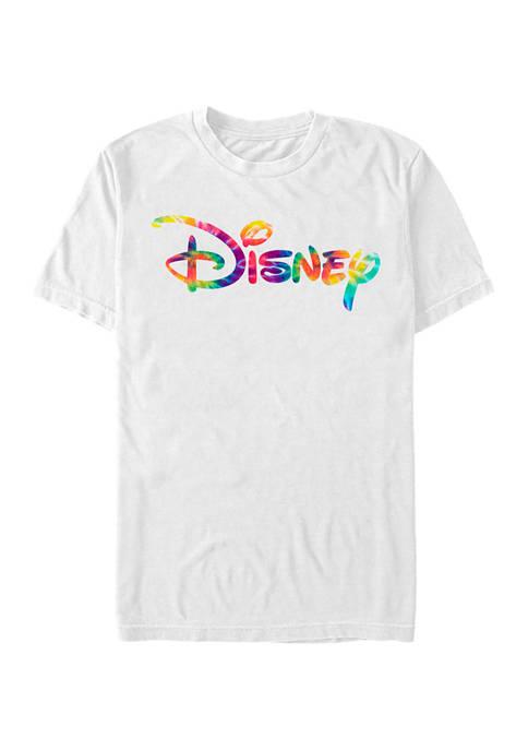 Disney® Juniors Disney Tie Dye Fill Graphic Short