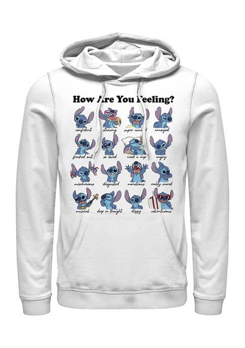 Disney® Stitch Moods Graphic Fleece Hoodie