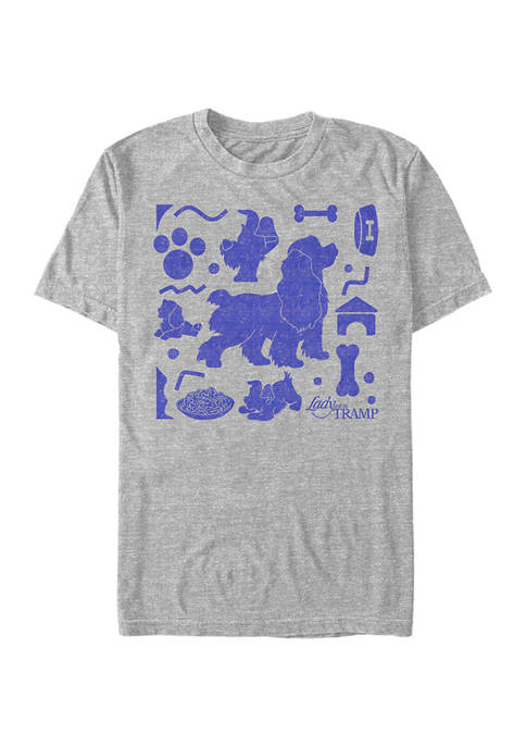 Lady and the Tramp Graphic Top