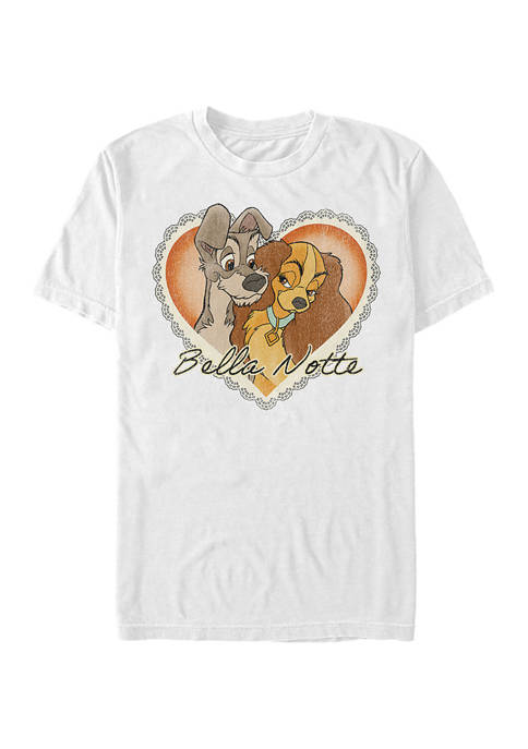 Fifth Sun™ Lady and the Tramp Graphic Top