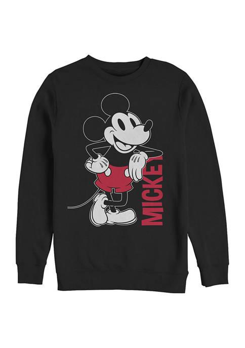 Disney® Leaning Crew Fleece Graphic Sweatshirt