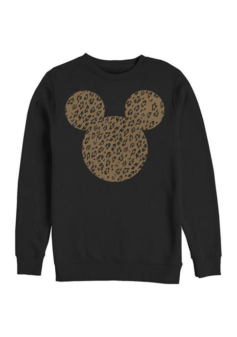 Disney® Cheetah Mouse Crew Fleece Graphic Sweatshirt