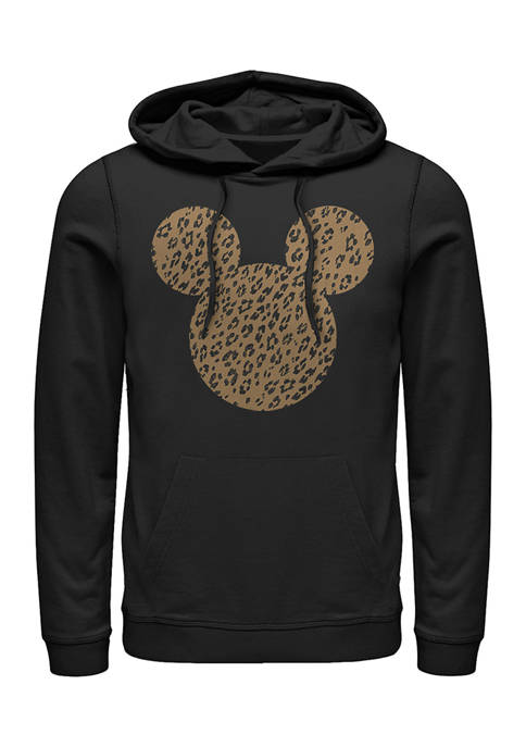 Disney® Cheetah Mouse Fleece Graphic Hoodie