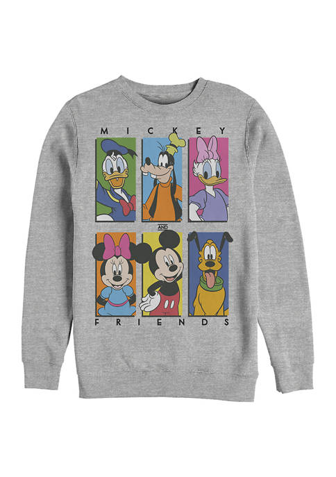 Disney® Six Up Graphic Crew Fleece Sweatshirt