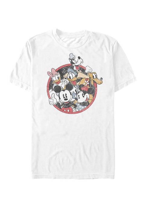 Disney® Retro Groupie Short Sleeve Graphic T-Shirt