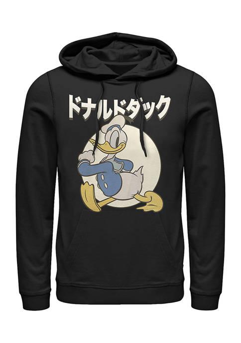 Disney® Kanji Duck Fleece Graphic Hoodie