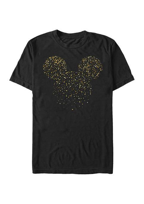 Disney® Mickey Confetti Fill Short Sleeve Graphic T-Shirt