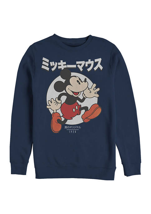 Disney® Kanji Comic Crew Fleece Graphic Sweatshirt