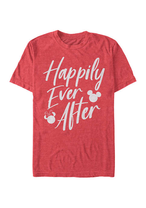 Disney® Happily Ever After Short Sleeve Graphic T-Shirt