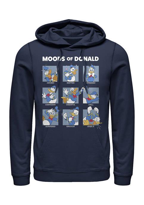 Disney® Donald Moods Fleece Graphic Hoodie