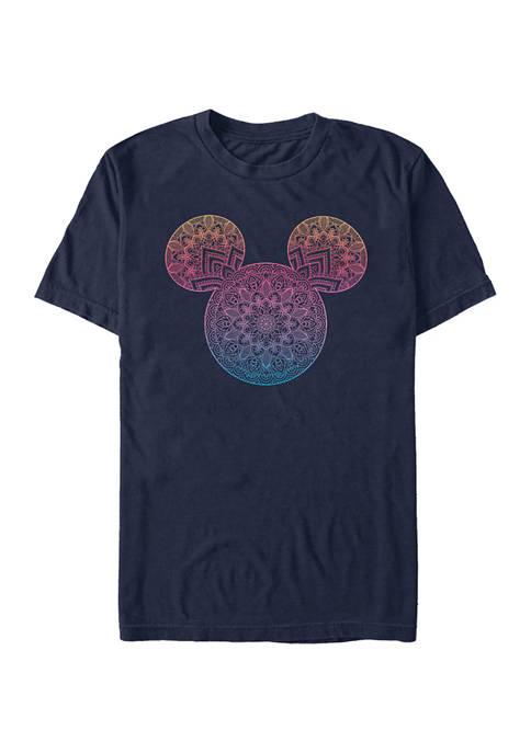 Disney® Mandala Fill Short Sleeve Graphic T-Shirt