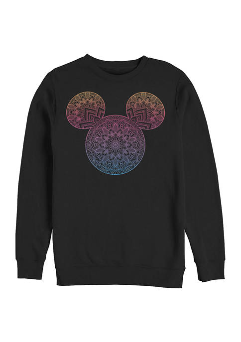 Disney® Mandala Fill Crew Fleece Graphic Sweatshirt