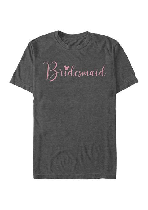 Disney® Bridesmaid Short Sleeve Graphic T-Shirt