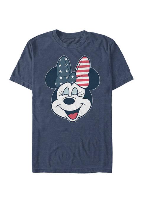Disney® American Bow Short Sleeve Graphic T-Shirt