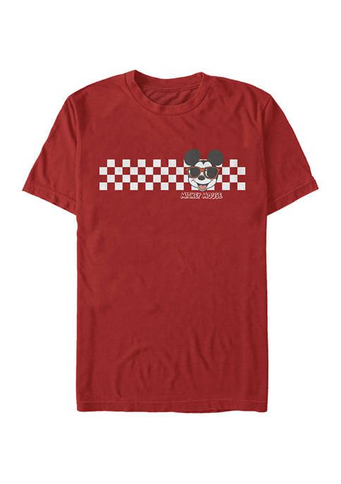 Disney® Checkers Short Sleeve Graphic T-Shirt