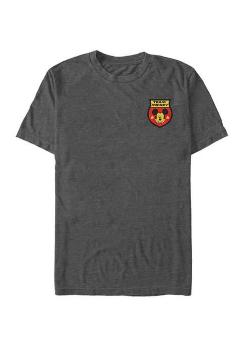 Mickey Classic Germany Badge Short Sleeve Graphic T-Shirt
