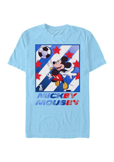 Disney® Football Star Short Sleeve Graphic T-Shirt