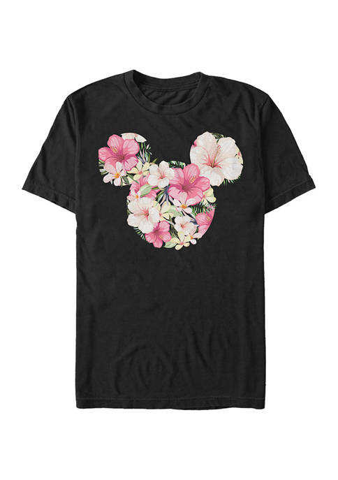 Disney® Tropical Mouse Short Sleeve Graphic T-Shirt