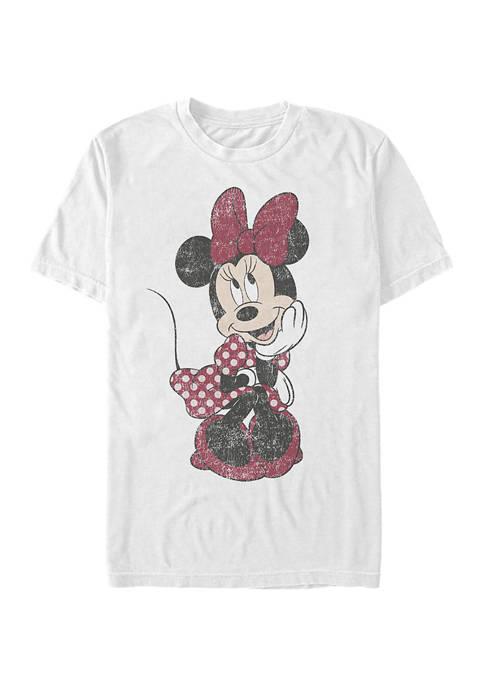 Mickey Classic Polka Dot Minnie Short Sleeve Graphic