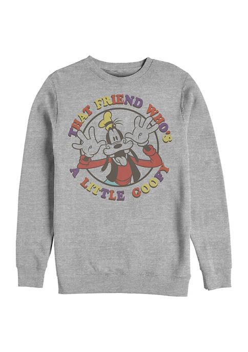 Disney® A Little Goofy Crew Fleece Graphic Sweatshirt