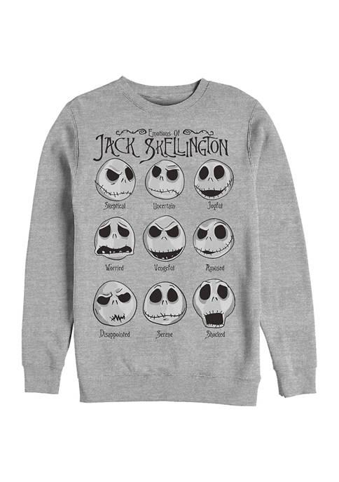 Jack Emotions Crew Fleece Graphic Sweatshirt