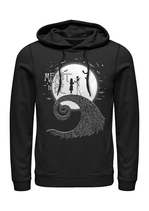 Nightmare Before Christmas Meant To Be Fleece Graphic