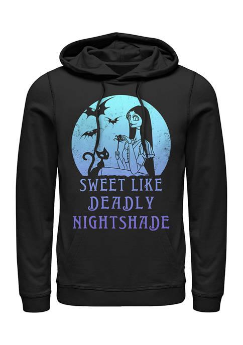 Nightmare Before Christmas Sally Moon Fleece Graphic Hoodie