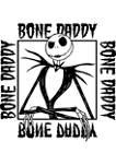 Bone Daddy Crew Fleece Graphic Sweatshirt