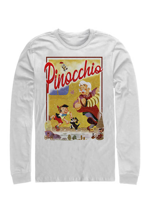 Disney® StoryBook Poster Long Sleeve Crew Graphic T-Shirt