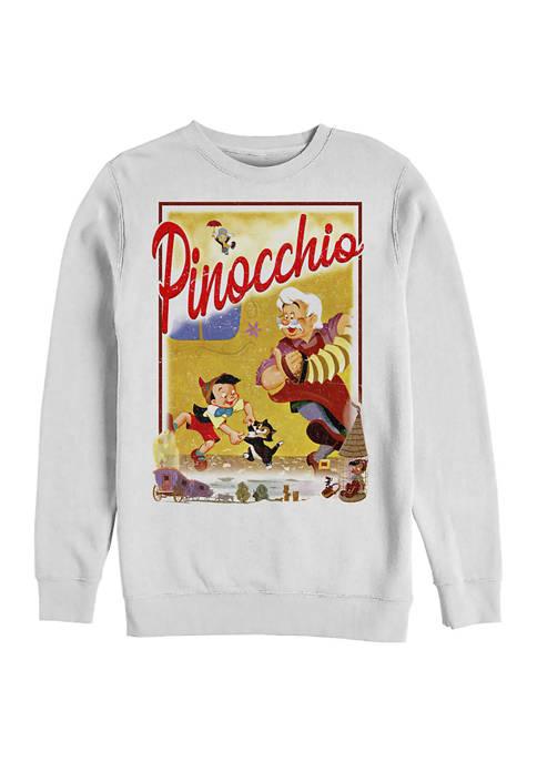 StoryBook Poster Crew Fleece Graphic  Sweatshirt