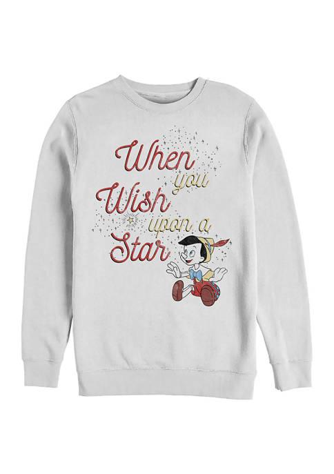 Disney® Wishing Star Crew Fleece Graphic Sweatshirt