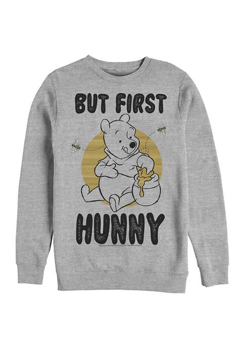 Disney® First Hunny Crew Fleece Graphic Sweatshirt
