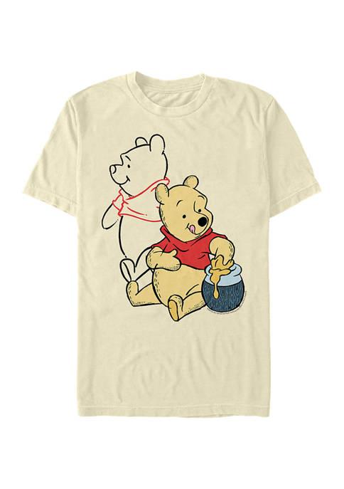 Disney® Line Art Short Sleeve Graphic T-Shirt