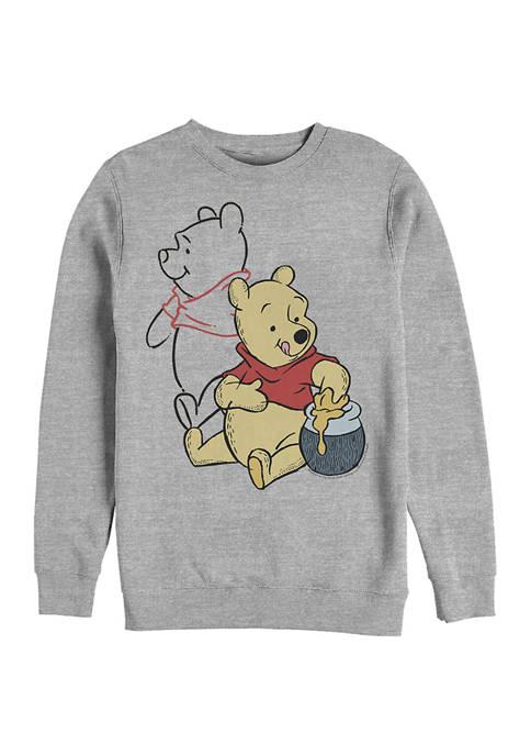 Disney® Line Art Crew Fleece Graphic Sweatshirt