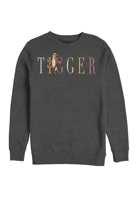 Tigger Fashion Crew Fleece Graphic Sweatshirt