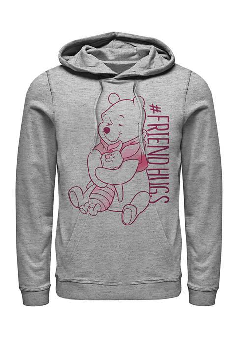Disney® Piglet Pooh Hugs Fleece Graphic Hoodie